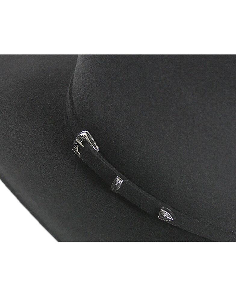 Cody James Men's 5X Colt Felt Cowboy Hat, Black, hi-res