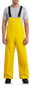 Carhartt Mayne Waterproof Bib Overalls - Big & Tall, Yellow, hi-res