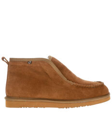 Lamo Footwear Men's Rust Kai Moc Slippers - Moc Toe, Rust Copper, hi-res