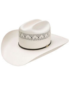 Resistol Men's 20X Stoney Ridge Western Straw Hat , Natural, hi-res