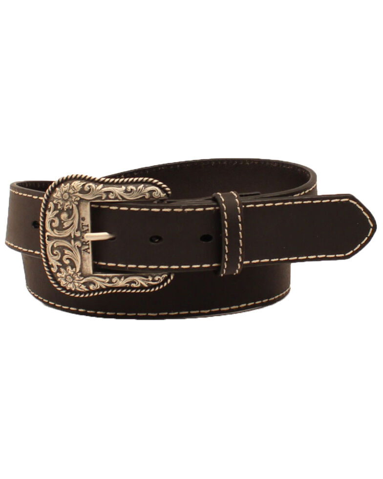 Ariat Women's Floral Western Belt, , hi-res