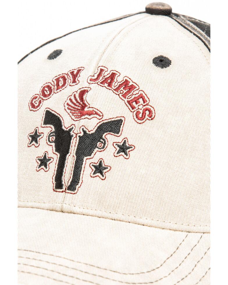 Cody James Men's Skull Head Logo Cap , Tan, hi-res