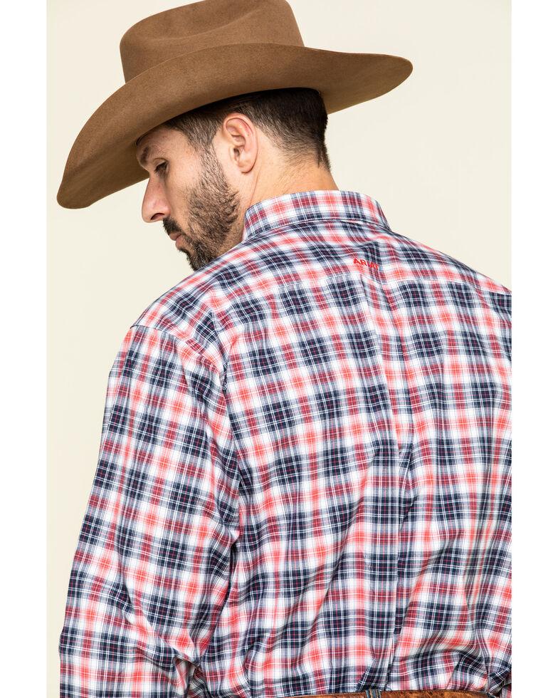 Ariat Men's Shannon Multi Plaid Long Sleeve Western Shirt - Tall , Multi, hi-res
