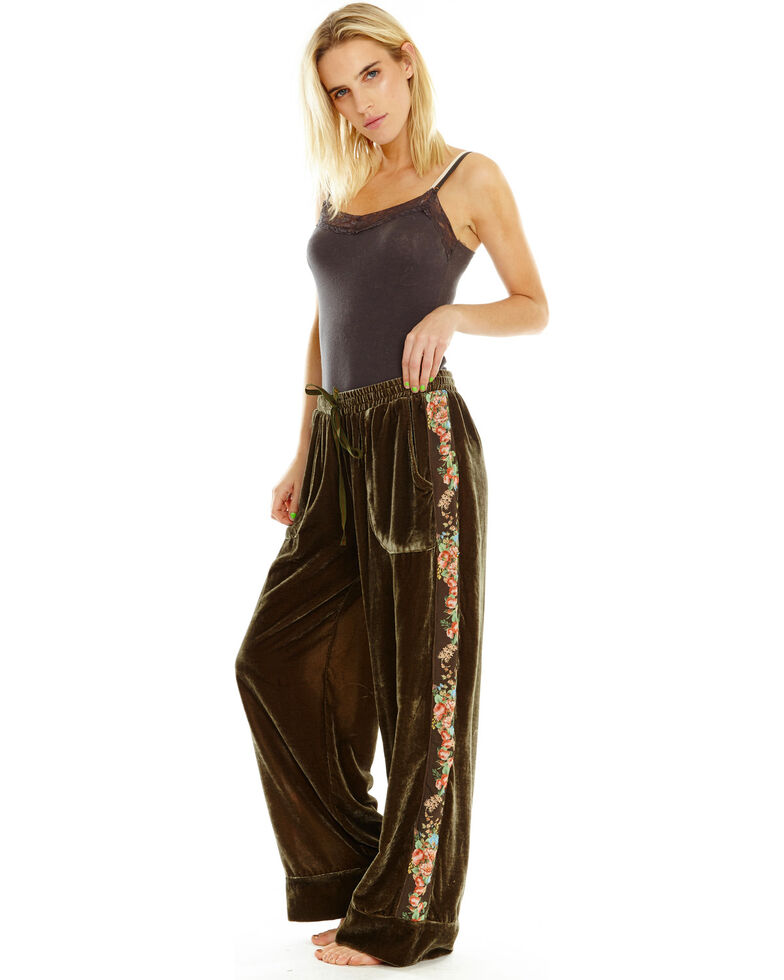 Aratta Women's Come to Me Pants, Olive, hi-res