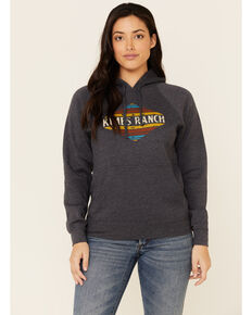 Kimes Ranch Women's Midnight El Paso Logo Graphic Hoodie, Navy, hi-res
