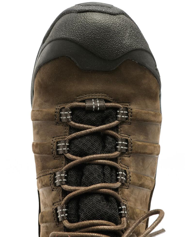 Hawx Men's Axis Waterproof Hiker Boots - Round Toe, Moss Green, hi-res