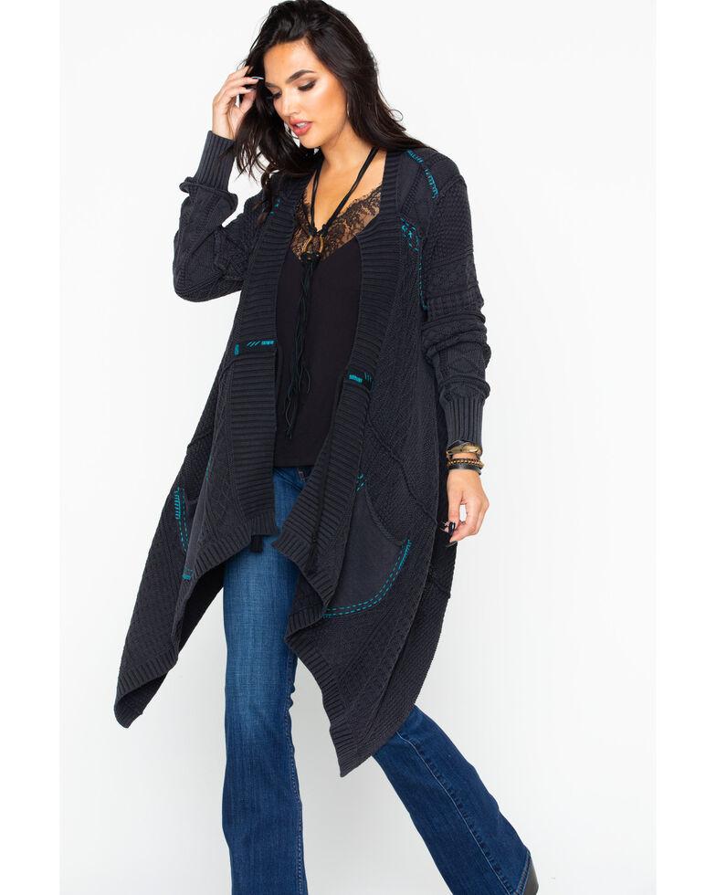Idyllwind Women's Modern Nomad Cardigan , Grey, hi-res