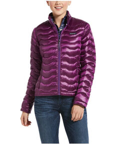 Ariat Women's Imperial Violet Ideal 3.0 Down Jacket , Violet, hi-res