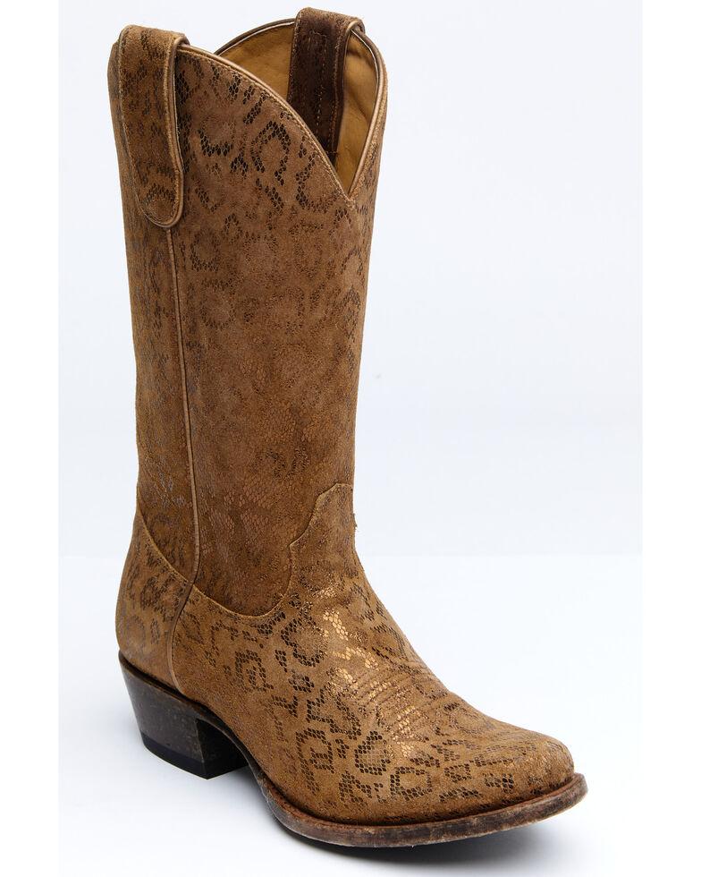 Shyanne Women's Shiloh Western Boots - Round Toe, Tan, hi-res