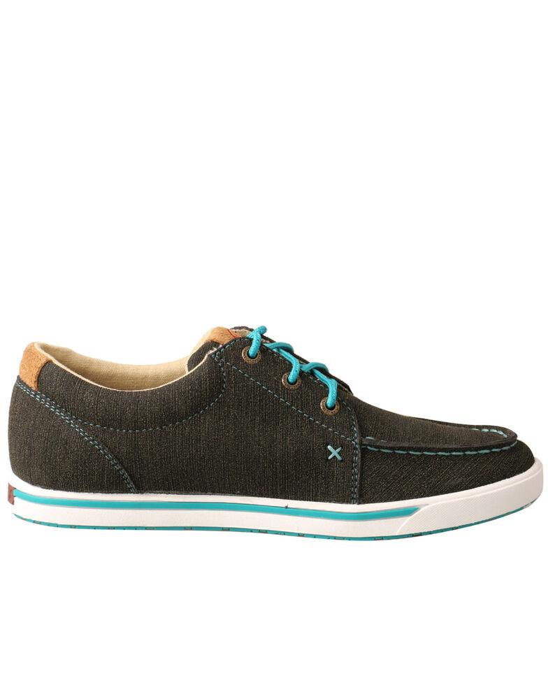 Twisted X Women's HOOey Loper Shoes - Moc Toe, Brown, hi-res