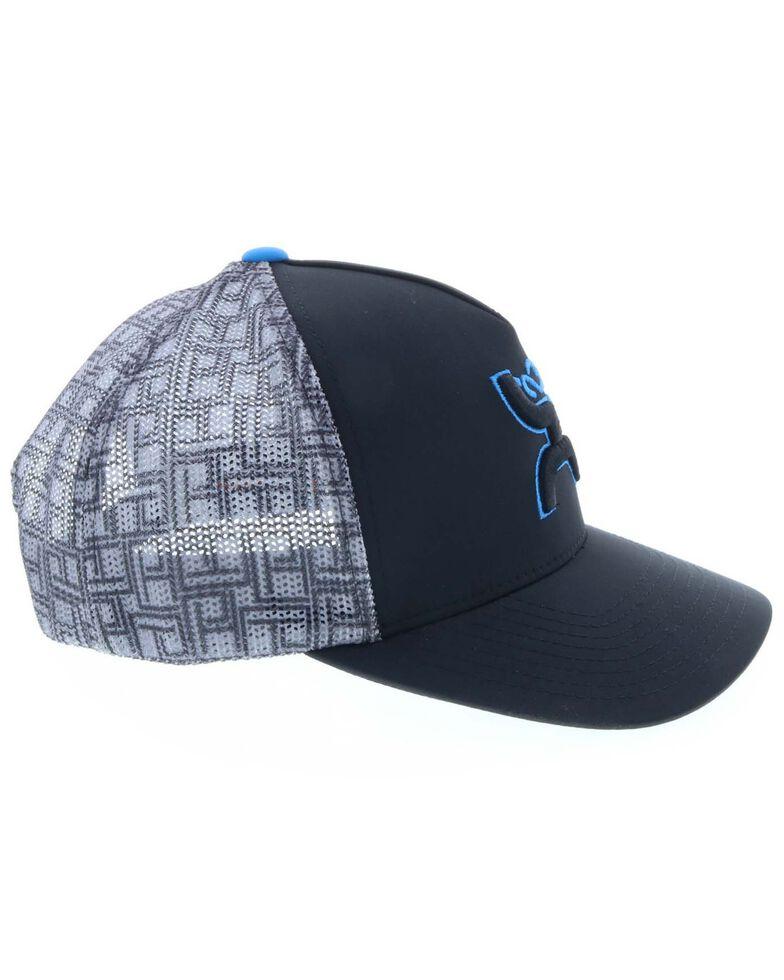 HOOey Men's Ace White Logo Cap, Blue, hi-res
