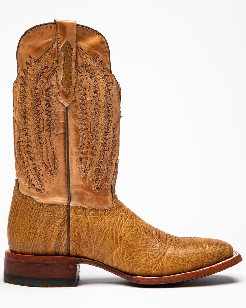 "Cody James Men's Buck 12"" Western Boots - Wide Square Toe, Honey, hi-res"