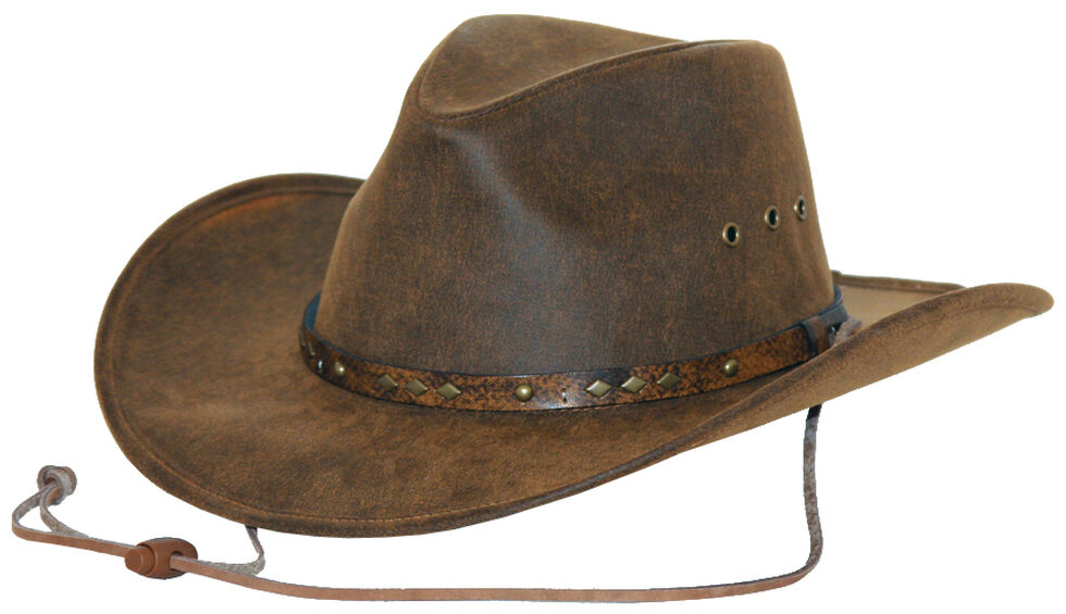 Outback Trading Co. Gold Dust Canyonland Cloth Hat, Brown, hi-res