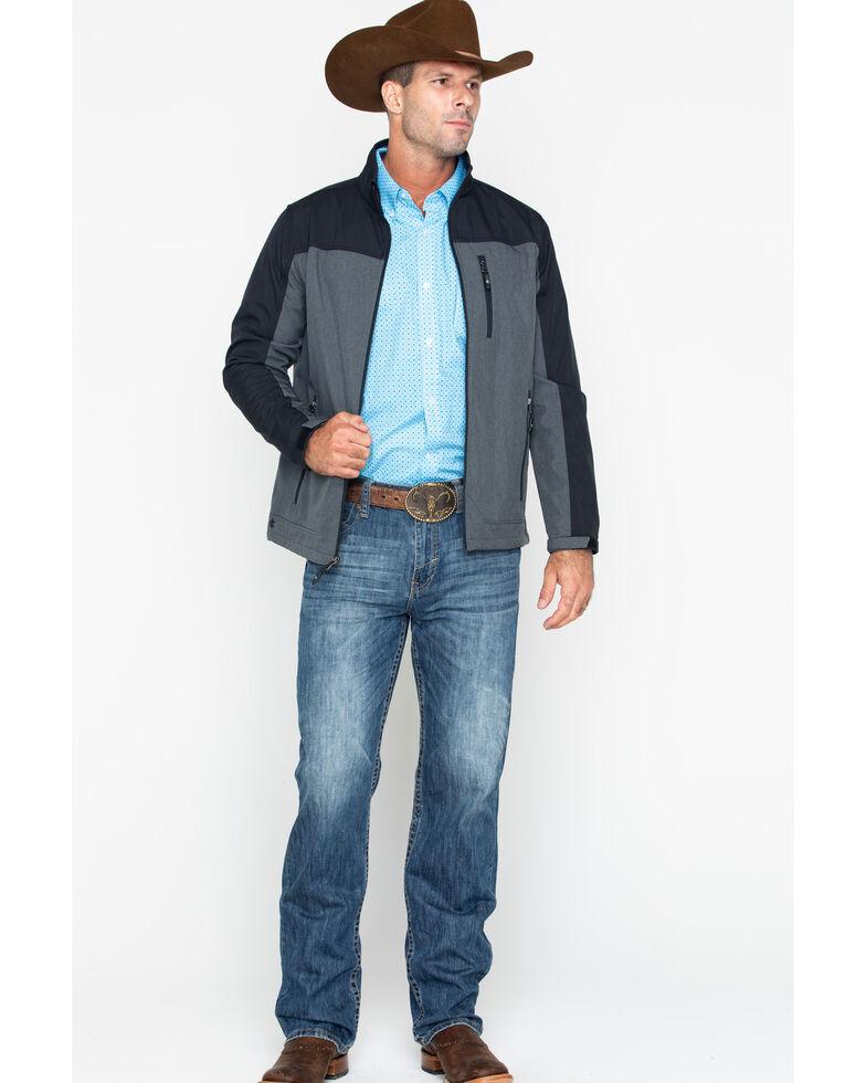 Cody James Core Men's Poly Zip-Up Steamboat Softshell Jacket , Black, hi-res