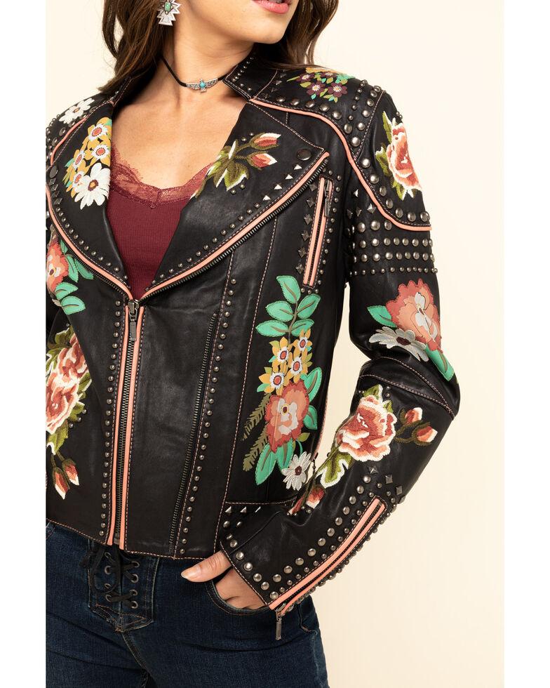 Double D Ranch Women's Backwoods Barbie Jacket, Black, hi-res