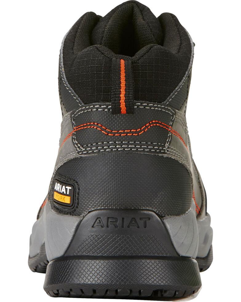 Ariat Men's Grey Contender Work Shoes - Soft Toe, , hi-res