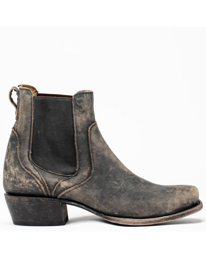 Moonshine Spirit Men's Bolt Western Boots - Round Toe, Black/brown, hi-res