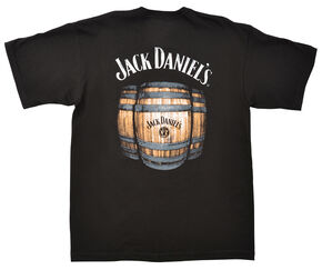 Jack Daniel's Men's Barrels T-Shirt, Black, hi-res