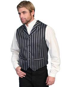 Rangewear by Scully Double Pinstripe Vest, Black, hi-res