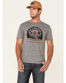 Pendleton Men's Olympic Park Heritage Graphic Short Sleeve T-Shirt , Grey, hi-res