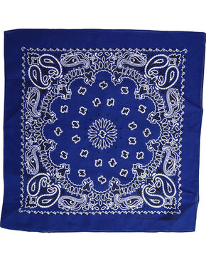 Cody James Women's Royal Blue Bandana, Royal Blue, hi-res