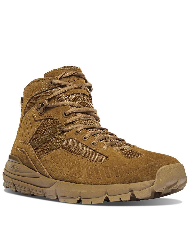 Danner Men's FullBore Coyote Work Boots - Soft Toe, Brown, hi-res