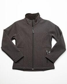 Roper Girls' Grey Softshell Jacket , Grey, hi-res