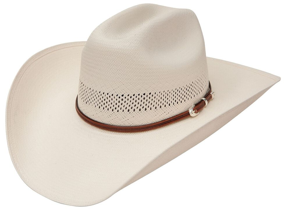 Stetson Rincon Vented Straw Cowboy Hat, Natural, hi-res