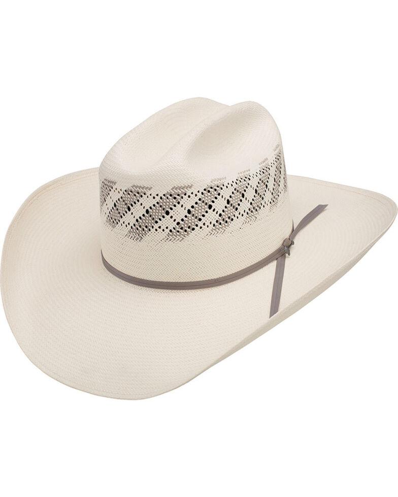 Stetson Men's Thunder 10x Straw Cowboy Hat, Natural, hi-res