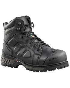 """Baffin Men's Monster 6"""" Waterproof Work Boots - Composite Toe, Black, hi-res"""