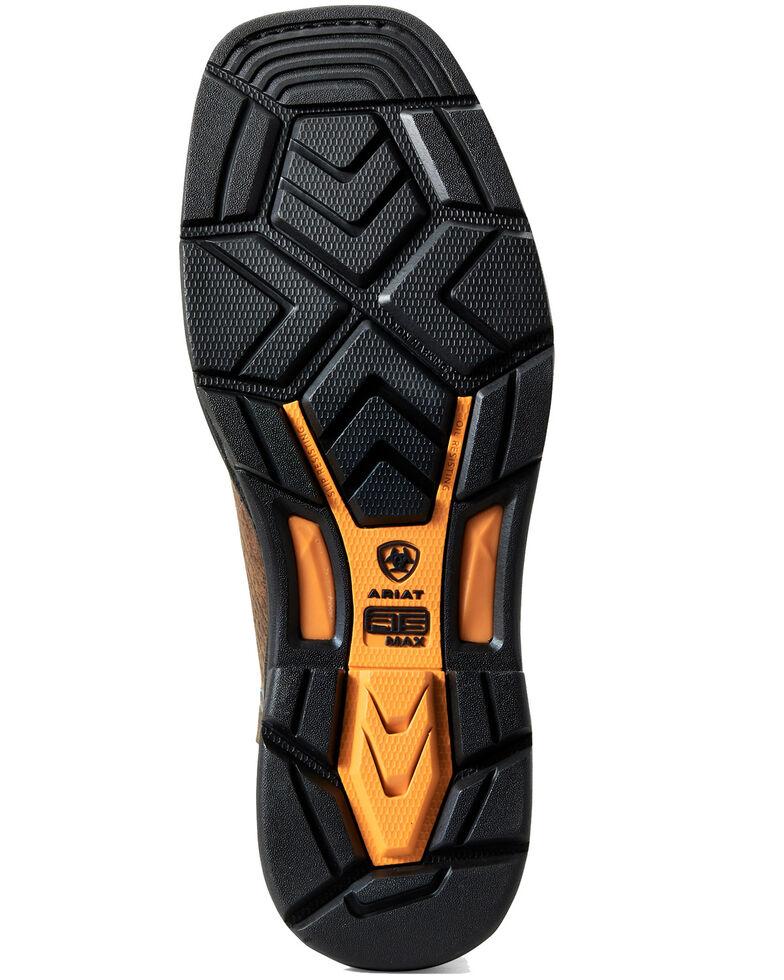Ariat Men's Coil Workhog Western Work Boots - Soft Toe, Brown, hi-res