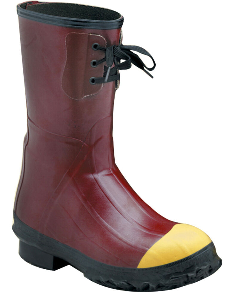"""Lacrosse Men's Insulated PAC 12"""" Steel Toe Work Boots - Steel Toe, Red, hi-res"""