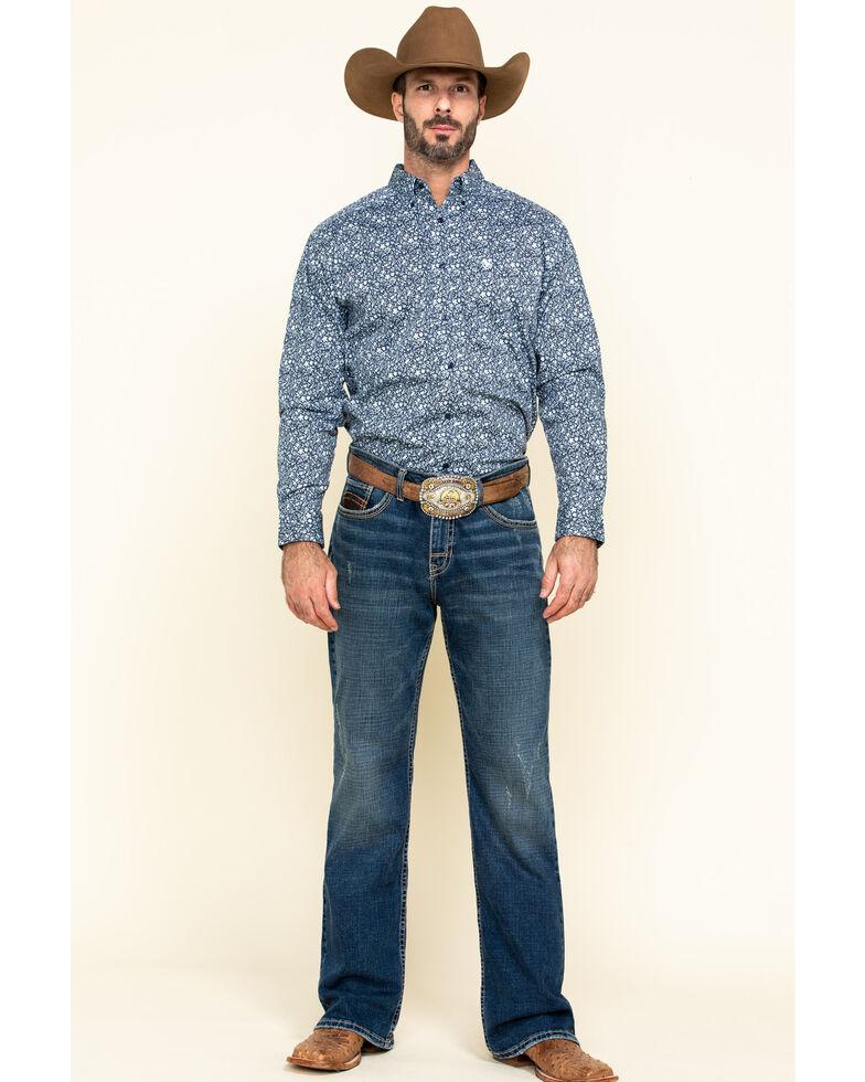 Ariat Men's Nellings Paisley Print Long Sleeve Western Shirt - Tall , Multi, hi-res