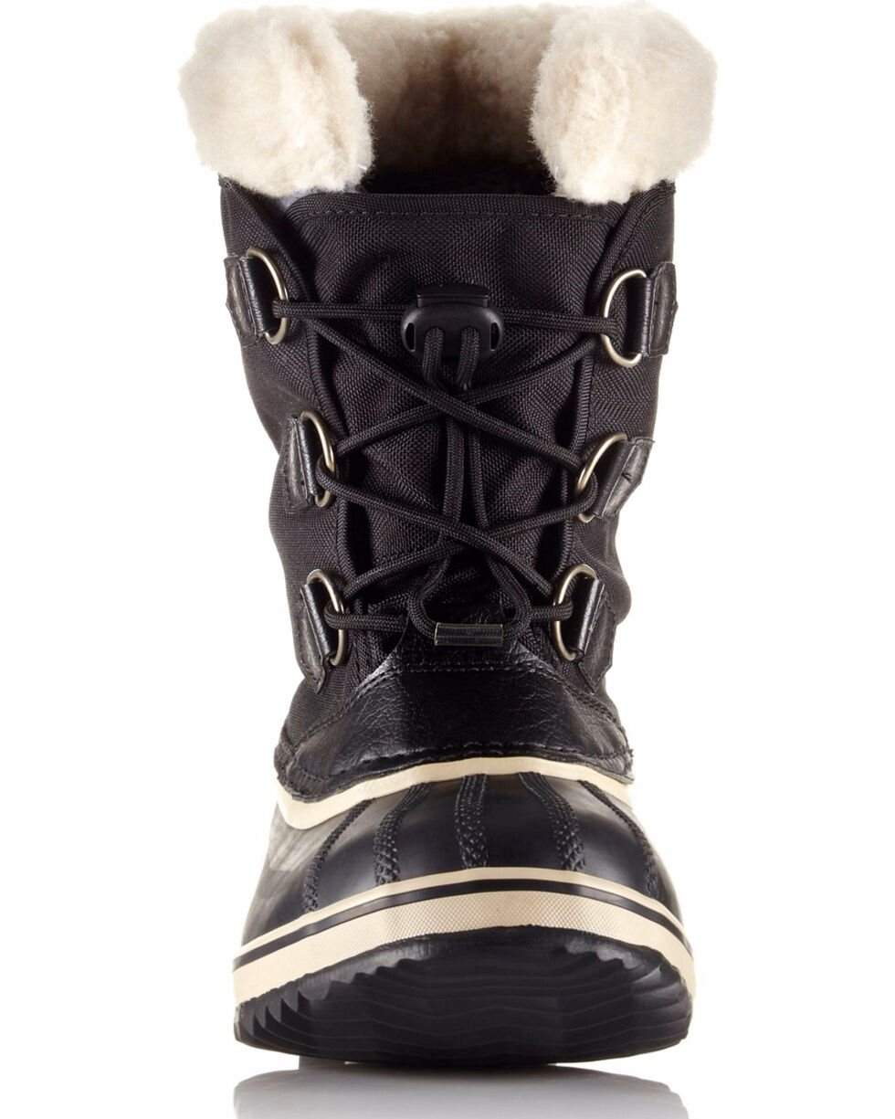 Sorel Boys' Black Yoot Pac Nylon Boots - Round Toe , Black, hi-res