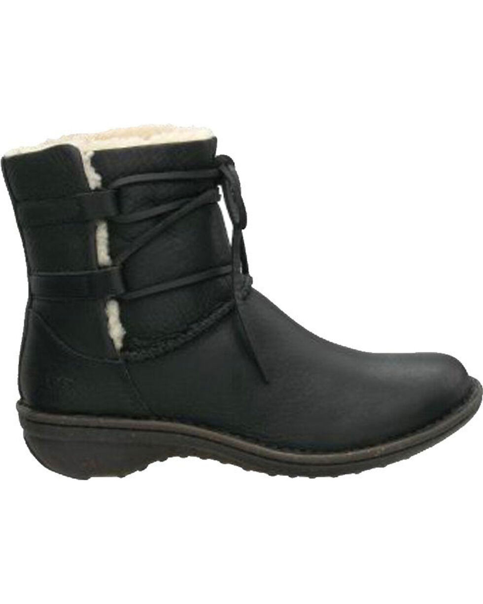 UGG® Women's Caspia Lace Boots, Black, hi-res