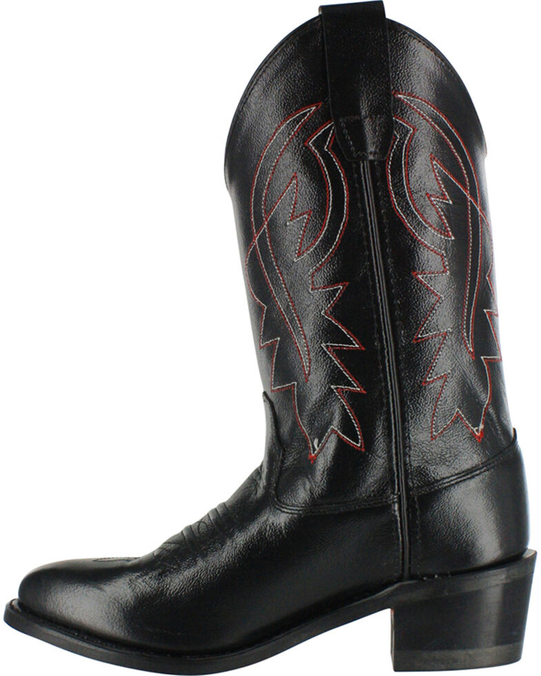 Cody James Youth Boys' Black Distressed Western Boots - Pointed Toe , , hi-res