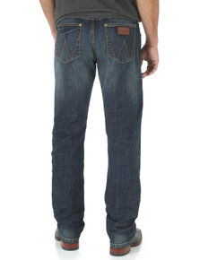 Wrangler Men's Retro Bozeman Slim Fit Straight Leg Jeans , Denim, hi-res