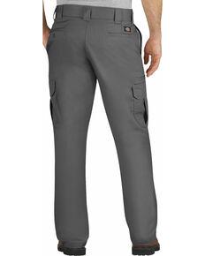 Dickies Men's FLEX Regular Fit Straight Leg Cargo Pants - Big & Tall, Dark Grey, hi-res