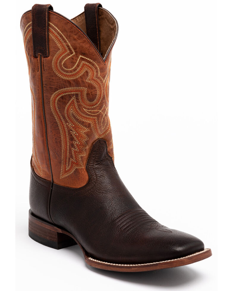 Cody James Men's Enterprise Western Boots - Wide Square Toe, Brown, hi-res