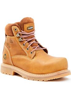 Hawx Women's Trooper Work Boots - Composite Toe, Black, hi-res