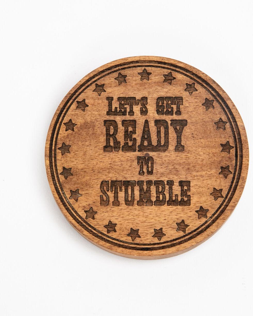 BB Ranch Stumble Coaster Bottle Opener , Brown, hi-res
