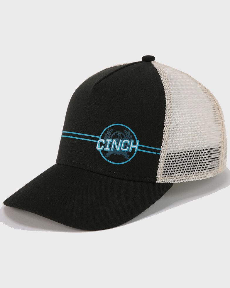 Cinch Men's Logo Trucker Ball Cap , Multi, hi-res