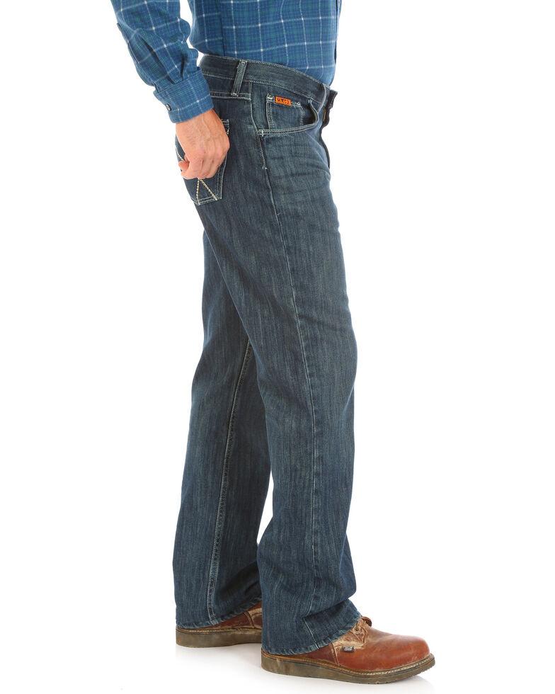 Wrangler 20X Men's Vintage Bootcut Work Jeans, Blue, hi-res