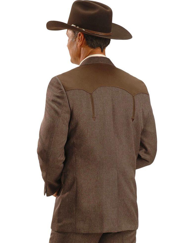 Circle S Boise Western Suit Coat - Short, Reg, Tall, Chestnut, hi-res