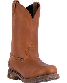 6b28b8c7f70 Dan Post Honey Brown Lawton Cowboy Work Boots