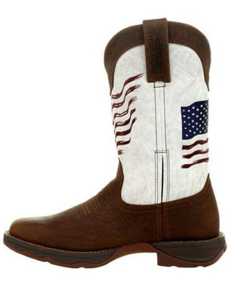 Durango Women's Lady Rebel Western Boots - Square Toe, Brown, hi-res