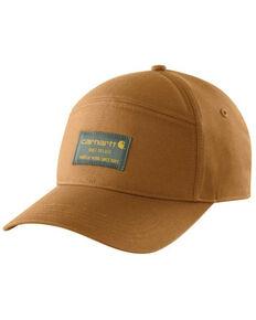 Carhartt Men's Brown Rugged Flex Canvas Graphic Ball Cap, Brown, hi-res