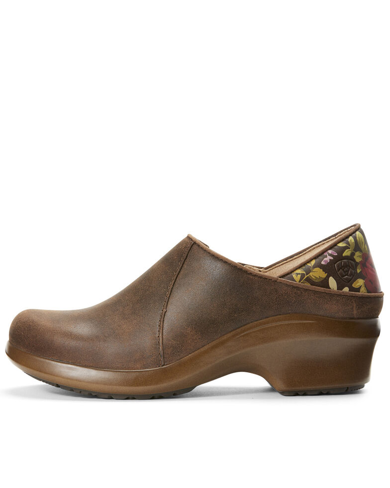 Ariat Women's Hera Expert Clogs, Brown, hi-res