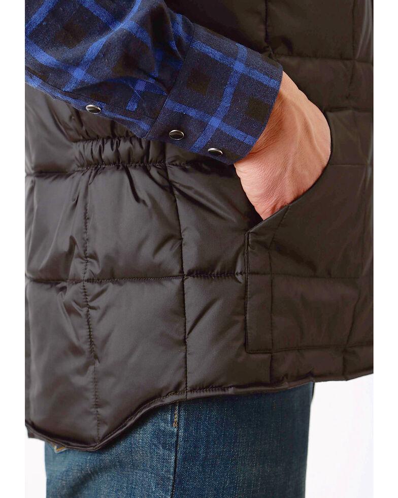 Roper Men's Rangegear Insulated Vest, Black, hi-res