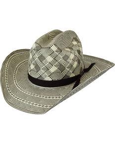 Bailey Renegade Cree Straw Western Hat, Grey, hi-res